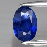 Genuine Blue Sapphire .59ct 6.0 x 4.0mm Oval SI1 Clarity