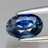 Genuine Blue Sapphire .62ct 6.0 x 4.0mm Oval SI1 Clarity