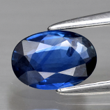 Genuine Blue Sapphire .62ct 6.6 x 4.6mm Oval SI1 Clarity