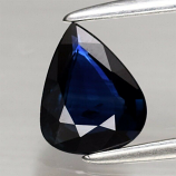Genuine 100% Natural Blue Sapphire 0.65ct 6.7 x 5.4mm Pear SI1 Clarity