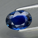 Genuine Blue Sapphire .68ct 6.5 x 5.0mm Oval VS Clarity