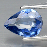 Genuine Blue Sapphire .71ct 6.8 x 5.0mm Pear SI1 Clarity Ceylon