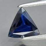 Genuine 100% Natural Blue Sapphire .72ct 6.7 x 6.5mm Trillion/Trilliant Cut VVS Clarity