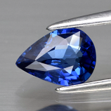 Genuine Blue Sapphire .78ct 6.8 x 5.0mm Pear SI1 Clarity Ceylon