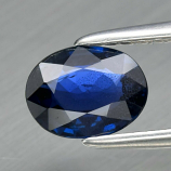 Genuine 100% Natural Blue Sapphire 0.81ct 6.7 x 5.0mm Oval VS Clarity