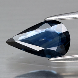Genuine 100% Natural Blue Sapphire .94ct 9.2 x 5.5mm Pear SI1 Clarity