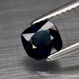 Genuine 100% Natural Blue Sapphire 1.10ct 6.0 x 5.5mm Cushion Cut SI1 Clarity