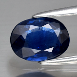 Genuine Blue Sapphire 1.23ct 7.7 x 5.7mm Oval SI1 Clarity