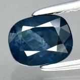 Genuine Blue Sapphire 1.28ct 6.6 x 5.3mm Cushion Cut SI2 Clarity