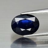 Genuine Blue Sapphire 1.71ct 8.4 x 6.3mm Oval SI1 Clarity