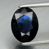 Genuine 100% Natural Blue Sapphire 2.02ct 8.2 x 6.3mm Oval SI1 Clarity (Certified)