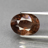 Genuine 100% Natural Brown Sapphire 2.50ct 9.2 x 7.0mm Oval SI1 Clarity