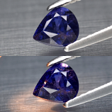 Genuine 100% Natural Color Change Sapphire .81ct 5.8 x 5.0mm Pear SI2 Clarity