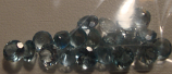 Genuine 100% Natural Aquamarine (20) 2.36ct 4.0 x 4.0mm Round VS Clarity