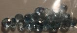 Genuine 100% Natural Aquamarine (20) 2.36ct 4.0 x 4.0mm Round VS Clarity