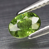 Genuine 100% Natural Demantoid Garnet 0.55ct 5.7 x 4.2mm Oval SI2 Clarity