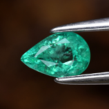 Genuine 100% Natural Emerald 0.36ct 5.8 x 3.8mm Pear SI1 Clarity