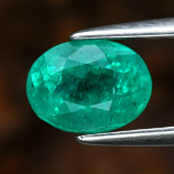 Genuine 100% Natural Emerald 1.01ct 6.8 x 5.2mm Oval SI1 Clarity