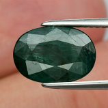 Genuine 100% Natural Grandidierite 2.92ct 10.95 x 7.65mm Oval SI2 Clarity (Certified)
