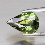 Genuine Green Sapphire .83ct 7.4 x 5.0mm Pear VVS Clarity