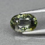 Genuine 100% Natural Green Sapphire 1.01ct 7.0 x 4.8mm Oval SI1 Clarity
