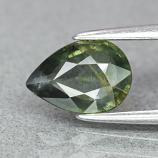 Genuine 100% Natural Green Sapphire 1.14ct 8.0 x 5.7mm Pear SI1 Clarity