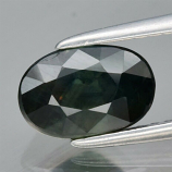 Genuine 100% Natural Green Sapphire 2.08ct 8.0 x 5.4mm Oval SI1 Clarity