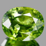 Genuine 100% Natural Green Sapphire 2.41ct 8.5 x 6.9mm Oval VS Clarity