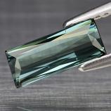 Genuine 100% Natural Green Tourmaline .97ct 9.2 x 4.0mm Scissor Cut VVS Clarity
