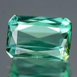 Genuine 100% Natural Green Tourmaline 1.21ct 7.2 x 5.0mm Octagon VS1 Clarity