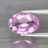 Genuine 100% Natural Pink Sapphire .86ct 7.0 x 4.8mm Oval SI1 Clarity