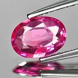 Genuine Pink Sapphire 1.05ct 7.8x5.7x2.4 SI Madagascar