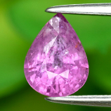 Genuine 100% Natural Pink Sapphire 1.25ct 7.4 x 5.6mm Pear I1 Clarity