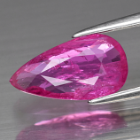 Genuine 100% Natural Pink Sapphire 2.08ct 11.6 x 6.3mm Pear SI1 Clarity