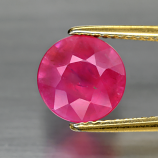 Genuine Pink Sapphire 2.72ct 8.5 x 8.5mm Round Cut SI2 Clarity