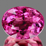 Genuine 100% Natural Pink Tourmaline 1.41ct 7.6 x 6.0mm Oval SI1 Clarity