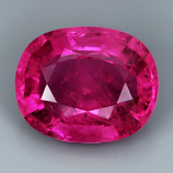 Genuine 100% Natural Pink Tourmaline 3.89ct 11.0 x 8.9mm Oval SI1 Clarity