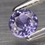 Genuine 100% Natural Purple Sapphire .31ct 4.2 x 4.2mm Round SI1 Clarity (Certified)
