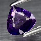 Genuine 100% Natural Purple Sapphire .63ct 5.8 x 5.8mm Pear SI1 Clarity