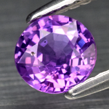 Genuine 100% Natural Purple Sapphire .81ct 5.4 x 5.4mm Round Cut SI1 Clarity