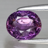 Genuine 100% Natural Purple Sapphire .83ct 6.0 x 5.0mm Oval SI1 Clarity