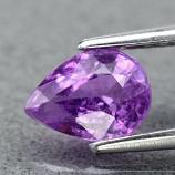 Genuine 100% Natural Purple Sapphire 0.85ct 6.5 x 4.8mm Pear SI1 Clarity