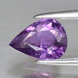 Genuine 100% Natural Purple Sapphire .88ct 7.2 x 5.2mm Pear SI1 Clarity