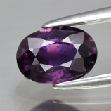 Genuine 100% Natural Purple Sapphire .98ct 6.7 x 4.7mm Oval SI1 Clarity