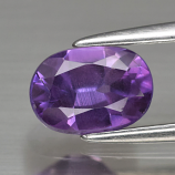 Genuine Purple Sapphire 1.02ct 7.0 x 5.0mm Oval SI1 Clarity