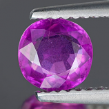 Genuine 100% Natural Purple Sapphire 1.07ct 6.1 x 6.0mm Round Cut SI1 Clarity
