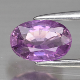 Genuine Purple Sapphire 1.10ct 7.3 x 5.0mm Oval SI1 Clarity