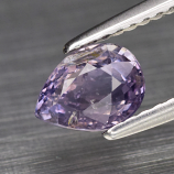 Genuine 100% Natural Purple Sapphire 1.14ct 6.7 x 5.0m Pear SI1 Clarity