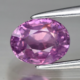 Genuine 100% Natural Purple Sapphire 1.18ct 6.6 x 5.0mm Oval SI1 Clarity