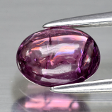Genuine Purple Sapphire 1.23ct 7.5 x 5.5mm Oval Cabochon